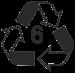 6 recycle symbol