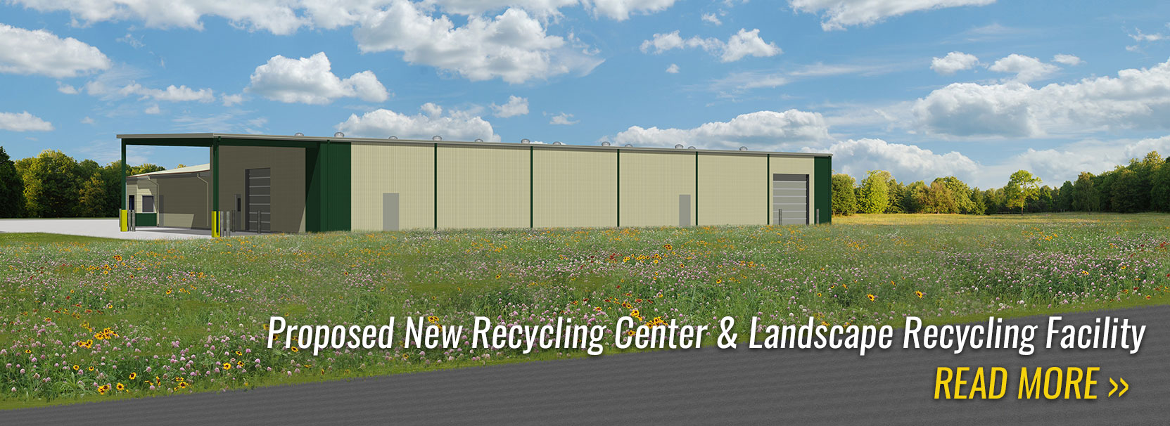 Proposed New Recyling Center & Landscape Recycling Facility