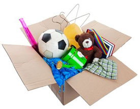 household-items-in-box