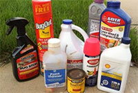 common household hazardous waste products