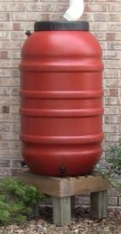 Rain Barrel - Terra Cotta