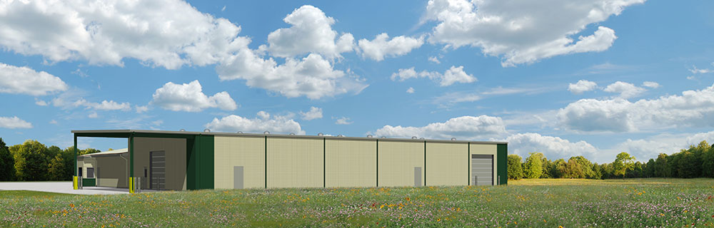 Rendering of Proposed Recycling Center